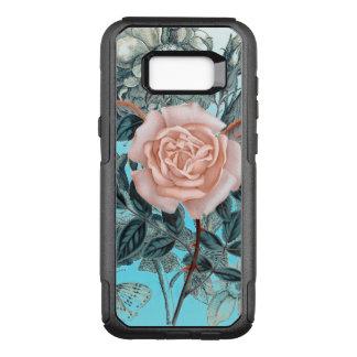 Schäbige Rose des Lachsrosas OtterBox Commuter Samsung Galaxy S8+ Hülle