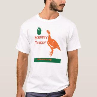 schäbiger Truthahn T-Shirt