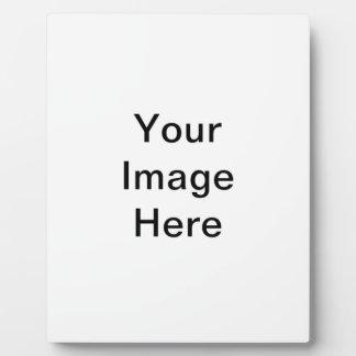 Schablone Fotoplatte