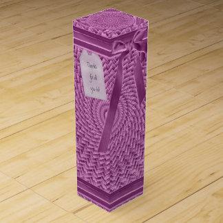 Schablone - leuchtendes Wein-Geschenkverpackung