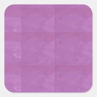 Schablonen-freier Raum addieren Ihren Bildtext Quadratischer Aufkleber