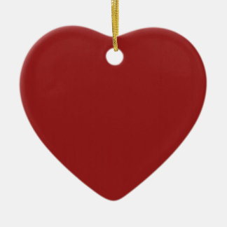 Schablonen-leerer roter Schatten addieren leicht Keramik Herz-Ornament