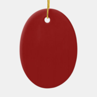 Schablonen-leerer roter Schatten addieren leicht Ovales Keramik Ornament