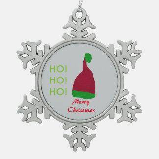 Schablonen-Text-Zinn-Schneeflocke-Verzierung Schneeflocken Zinn-Ornament