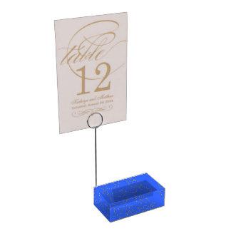 Schablonenbild-Kartenhalter