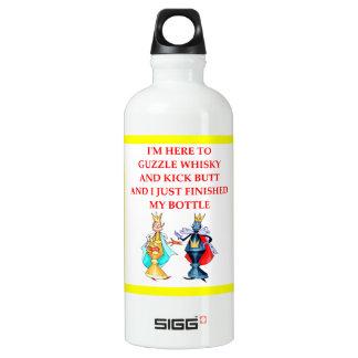 Schach Aluminiumwasserflasche
