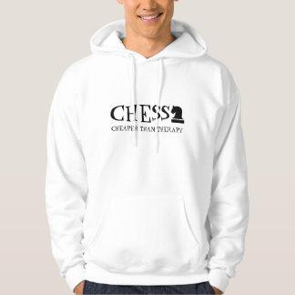 Schach billiger als lustiger Kapuzenpulli der Hoodie