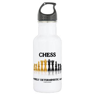 Schach ein lediglich deterministisches Spiel Trinkflasche