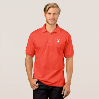 Schach-Polo: Bischofs-Paare Polo Shirt