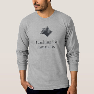 Schach-Shirt: Suchen meiner Königin des Kamerad-| T-Shirt
