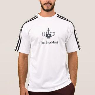 Schach-Shirt: Verein-Präsident T-Shirt