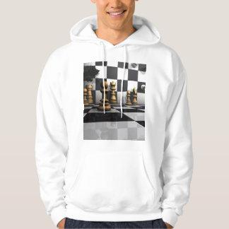 Schach-Spiel-König Hoodie