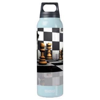 Schach-Spiel-König Isolierte Flasche