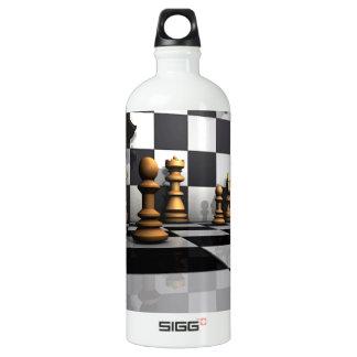 Schach-Spiel-König Wasserflasche