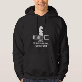 Schach-Talent-Laden Hoodie