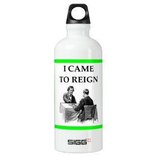 Schach Wasserflasche