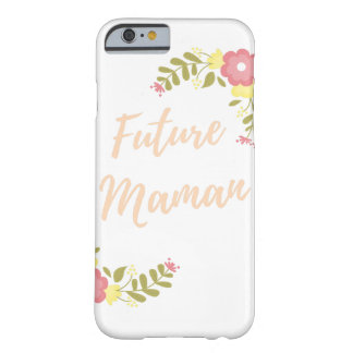 "Schachtel an zellular ""künftiger Mama "" Barely There iPhone 6 Hülle"