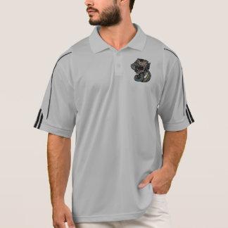 Schädel Adidas ClimaLite®, das 1/2 Zippullover Polo Shirt