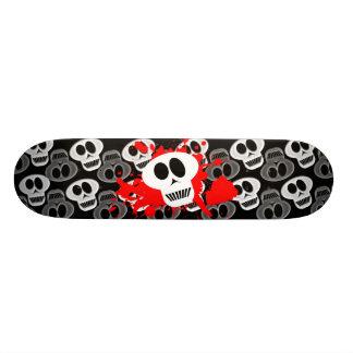 Schädel dunkel individuelles skateboard