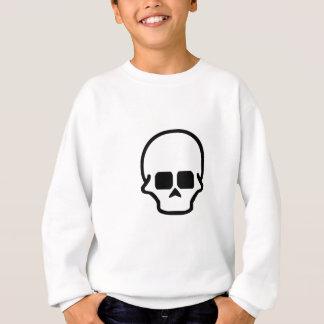 Schädel-Entwurf neun Sweatshirt