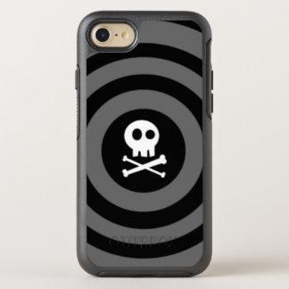 ~ Schädel + Gekreuzte Knochen ~ OtterBox Symmetry iPhone 8/7 Hülle
