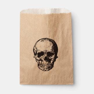 Schädel-Halloween-Party-Bevorzugungstasche Geschenktütchen