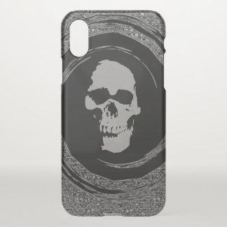 Schädel im Whirl iPhone X Hülle