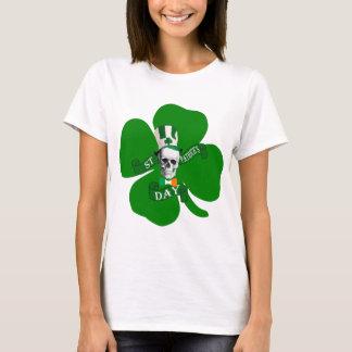 Schädel-irisches St. Patricks T-Shirt