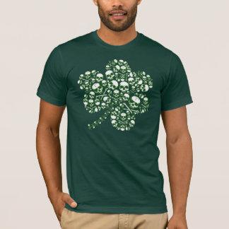 Schädel-Kleeblatt T-Shirt