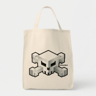 Schädel-Logo-Tasche Pixelfield Spiel-| radikale Tragetasche