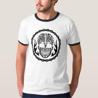 SCHÄDEL-MOTORRAD-T-SHIRT T-Shirt