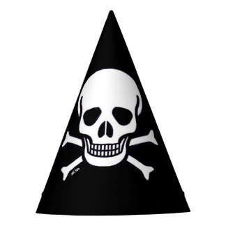 Schädel n entbeint Partyhüte Partyhütchen