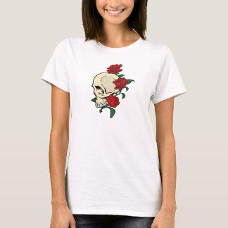 Schädel N Rosen T-Shirt