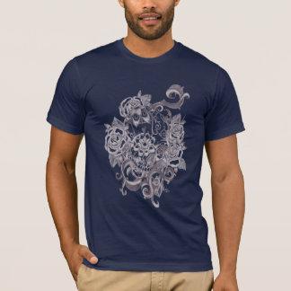 Schädel tatoo T-Shirt