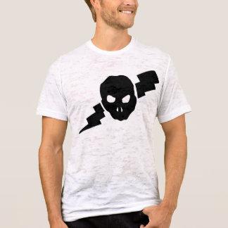 Schädel und Beleuchtungsbolzen! T-Shirt