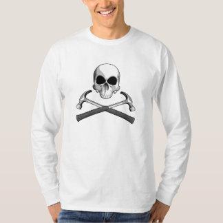 Schädel und Hämmer T-Shirt