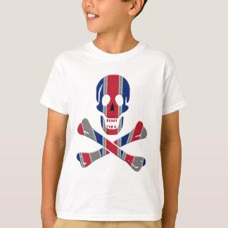 Schädel-und Knochen-Gewerkschafts-Jack T-Shirt