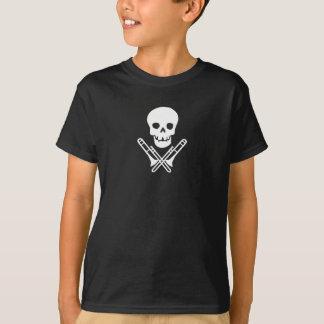 Schädel und trombones~white T-Shirt