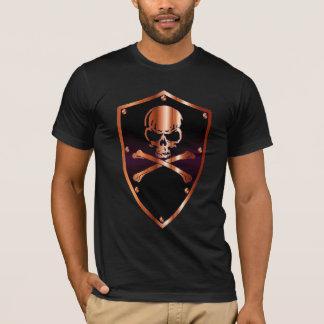 Schädelschild T-Shirt