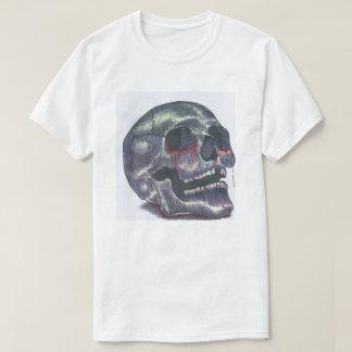 Schädelt-stück der Männer T-Shirt