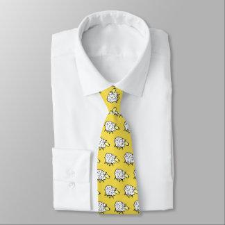 Schaf-Entwurf Personalisierte Krawatten