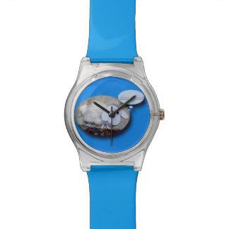 Schaf-Jahr-niedlicher chinesischer neues Uhr