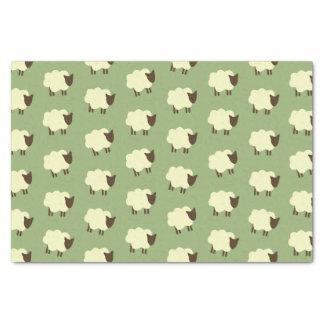 Schafe Seidenpapier