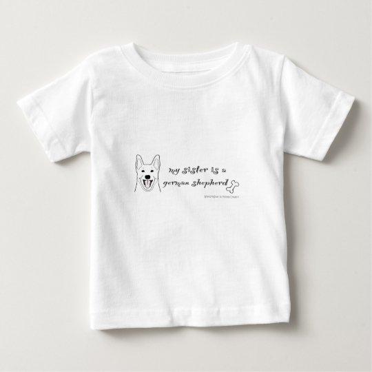 Schäferhund Baby T-shirt