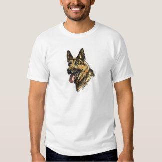 Schäferhund-Farbe Hemd