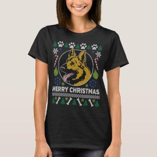 Schäferhund-Hundezucht-hässliche T-Shirt