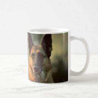 Schäferhund-Kaffee-Tasse Tasse