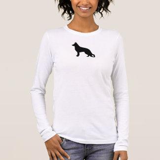 Schäferhund Langarm T-Shirt