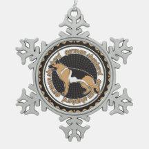 Schäferhund Ornament