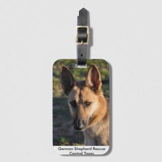 Schäferhund-Rettungs-zentraler Kofferanhänger